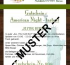 Gutscheinmuster American Night